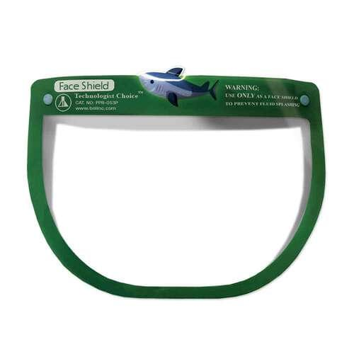 Pediatric Face Shield Green