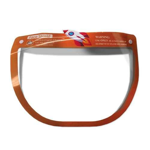 Pediatric Face Shield Orange