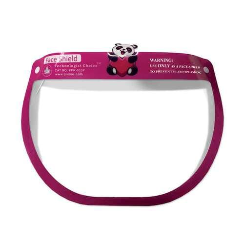 Pediatric Face Shield Pink