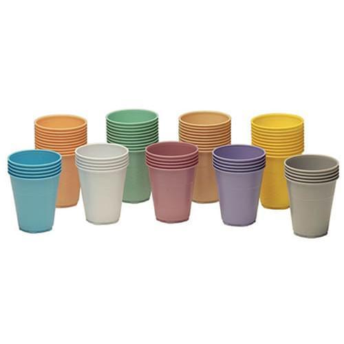 Dental Cups Plastic Yellow 1000/case