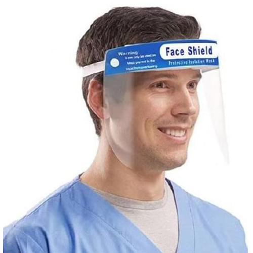 Anti-Fog Face Shield with Foam Headband