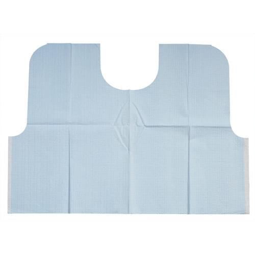 Dental Large Prophy Bibs Blue 29 x 21 100/case