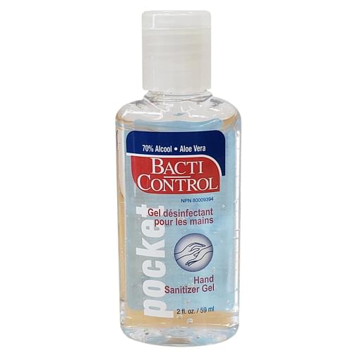 Hand Sanitizer Gel 60 mL 70% Alcohol with Aloe