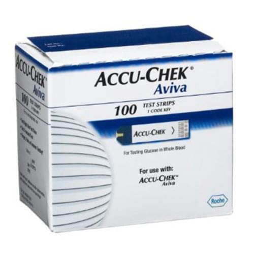 Accu-Check Aviva Monitor Glucose Test Strips