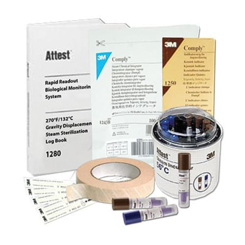 3M Attest Biological Indicator Monitoring Starter Kit: Includes Incubator