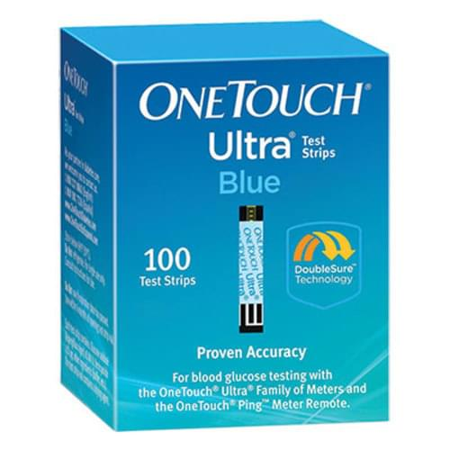 OneTouch® Ultra® Test Strips 100/box