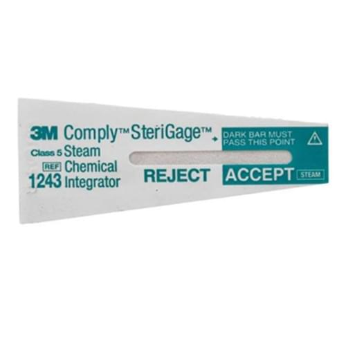 """3M Comply SteriGage& Chemical Integrator 2"""" x 3/4"""""""