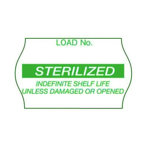 3M Comply Load Labels - Sterilized Green 1125/Roll