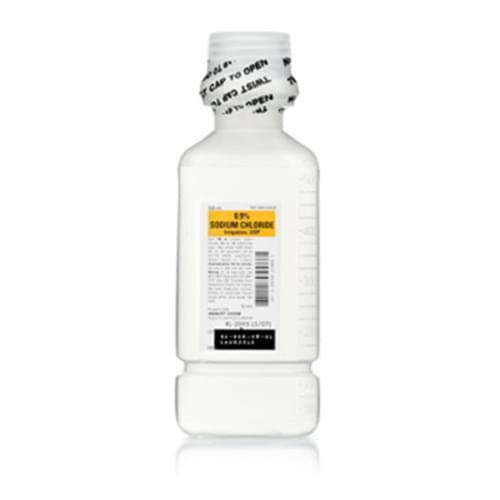 Sodium Chloride 250ml Irrigation Bottle
