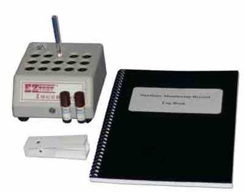 EZ Test Sterilization Starter Kit; includes Incubator