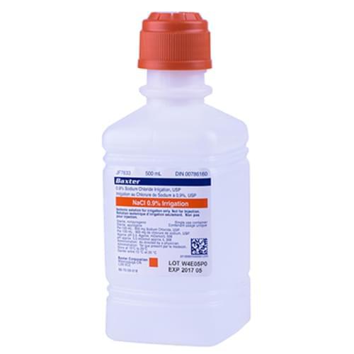 Sodium Chloride 0.9% Irrigation 500ml