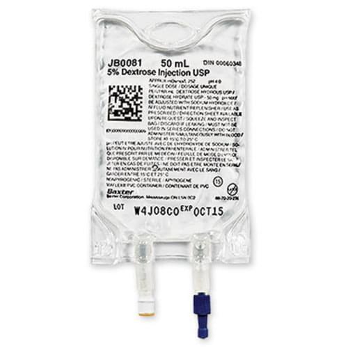 I.V. Mini Bags Dextrose