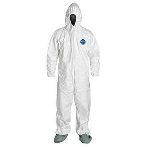 Tyvek Coverall - Large, Hood 25/case