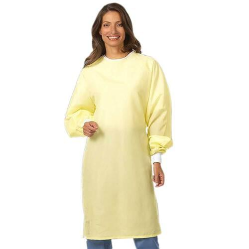 Unisex ALL Reusable Yellow Precaution Gown