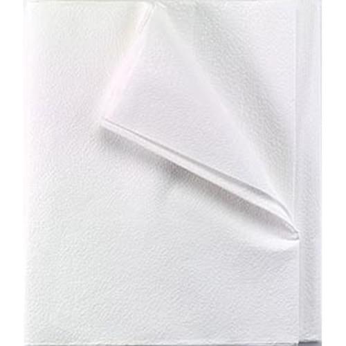 """Stretcher Sheet 40"""" x 84"""" White"""