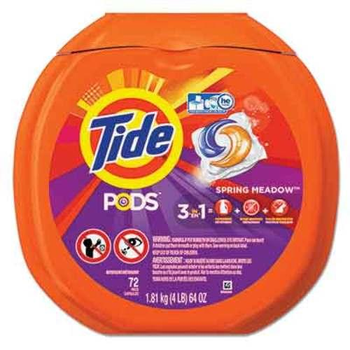 Tide® Laundry Pods Spring Meadow - 72/PK