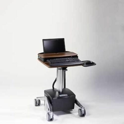 Midmark Care Exchange 6251 DC Powered Traditional Style Laptop Cart