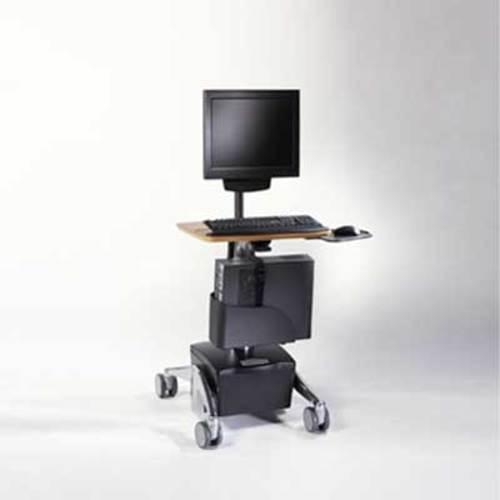 Midmark Care Exchange 6252 DC Powered Flat Panel PC Cart