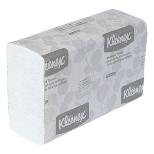 Kleenex Multifold Towels - White - 2400 Sheets/case