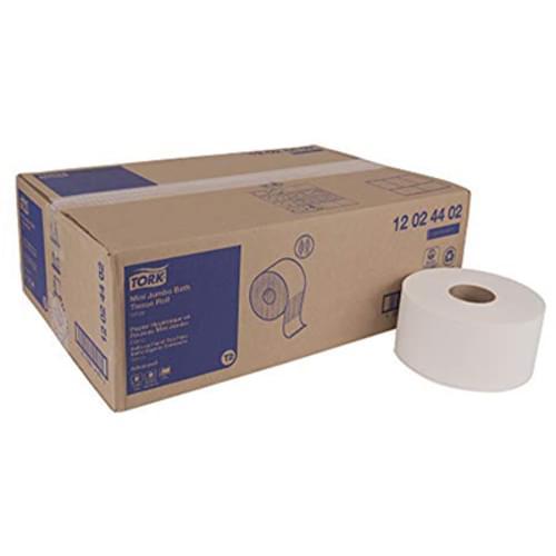 Tork Advanced Mini Jumbo Bath Tissue Roll 2-Ply