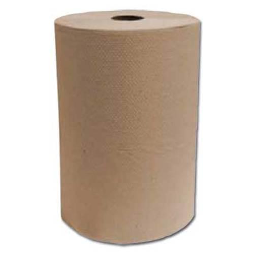 """Kraft Paper Towel Roll 8"""" x 205'/roll"""