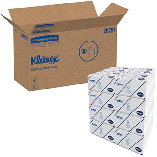 Kleenex Ultra-Soft Multifold Hand Towels 2-Ply