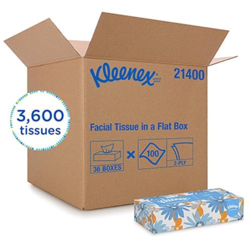 Kleenex Facial Tissue 2-Ply