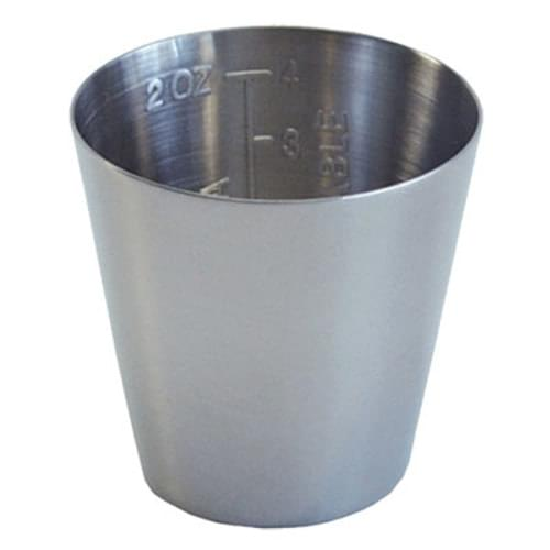 Medicine Cup Graduated Stainless Steel 2 oz