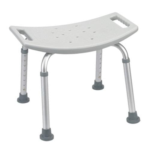 Deluxe Aluminum Shower Seat Without Back