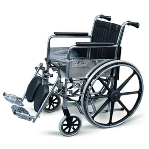 """Argo 18"""" Wide Wheelchair Fixed Arm Elevating Legrest"""