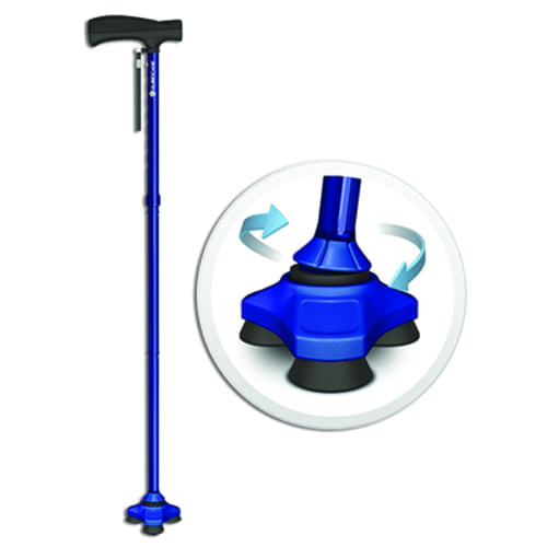 HurryCane® Freedom Edition - The All-Terrain Cane - Blue