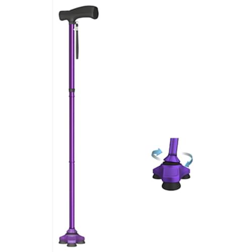 HurryCane® Freedom Edition - The All-Terrain Cane - Purple