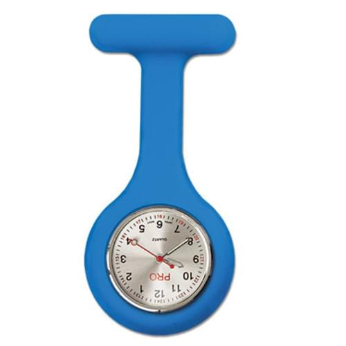 Silicone Lapel Watch - Blue