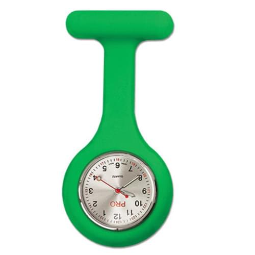 Silicone Lapel Watch - Green