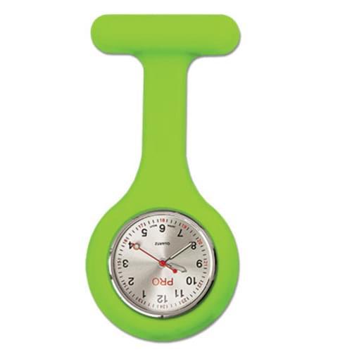 Silicone Lapel Watch - Kiwi Green