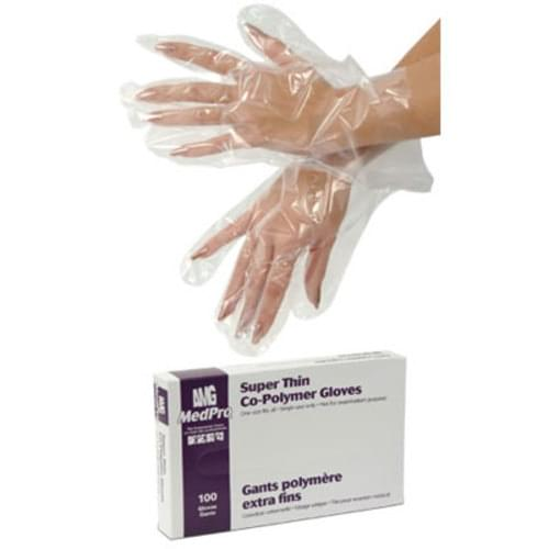 Copolymer, Finger Cots & Household Gloves