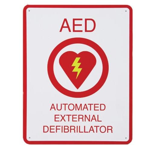 ZOLL&reg AED Flat Wall Sign