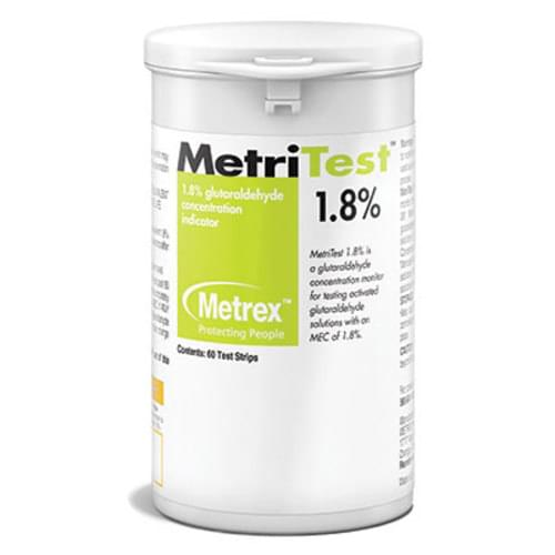 MetriTest& Test Strips 1.8% 60 strips/bottle