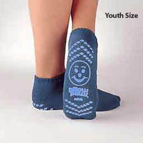 Pillow Paws Terries Youth Light Blue Single Imprint 48 pairs/case