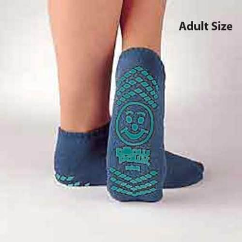 Pillow Paws Terries Adult Teal Double Imprint 48 pairs/case