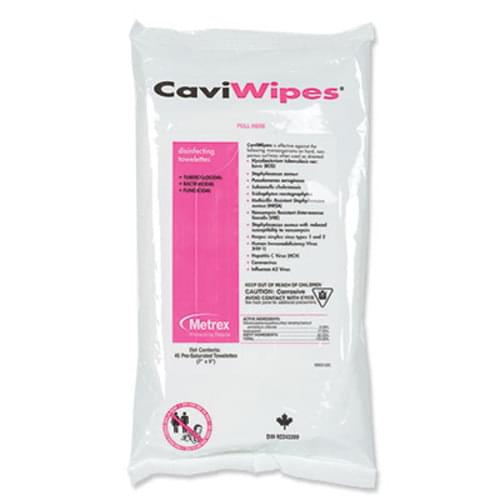 CaviWipes in a Flat Pack 45/pack 20 packs/case