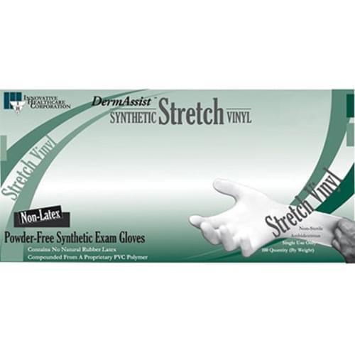 DermAssist Stretch Vinyl Gloves PF