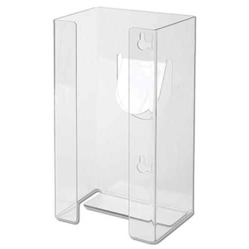 Single Glove Box Dispenser Clear Plastic