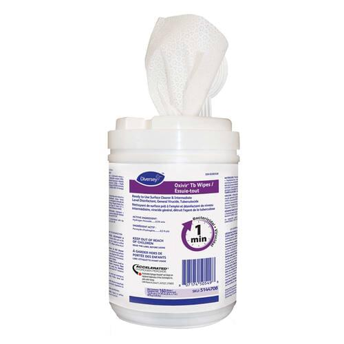 Oxivir® Tb Disinfecting Wipes 160 Wipes/Tub