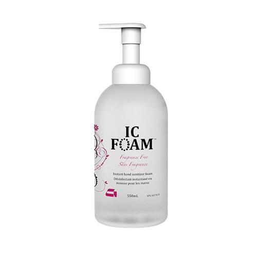IC-Foam Antiseptic Skin Cleanser 550 mL 70% Alcohol Fragrance Free