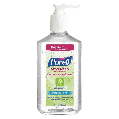 Purell Advanced Hand Sanitizer Gel 12 fl oz Pump Bottle