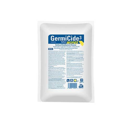 GermiCide3 Multi-Surface Disinfectant Wipes Refill Large