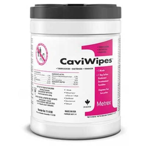 """CaviWipes 6"""" x 7"""" 160/canister"""