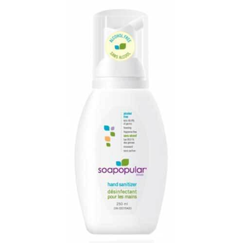 Soapopular Alcohol-Free 250 mL Hand Sanitizer Foam