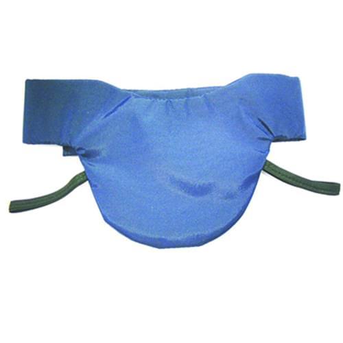 Wolf X-Ray Thyroid Collar Navy Blue